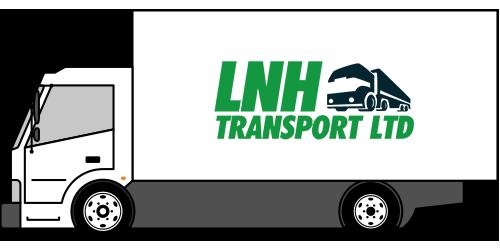 lnh 7.5 tonner truck